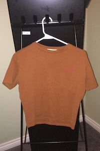 Short Sleeved Cropped T