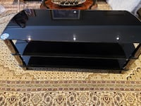 Glass Audio Stereo Cabinet