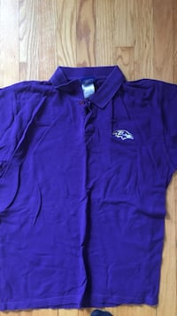 Purple Ravens L polo shirt Baltimore, 21212