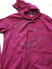 Women's pink puma long sleeve London
