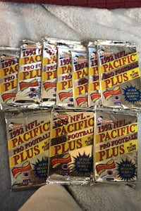 1992 Pacific Pro Plus Football pack 14 cards per pack  New Sealed 40c  Beltsville, 20705