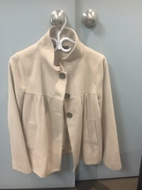 ZARA COAT JACKET WOOL MEDIUM LADIES  NEW. VALUE $175.00