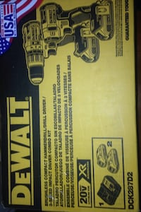 Dewalt brushless compact hammerdrill/drill driver impact driver combo
