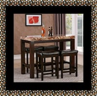 5pc Pub table with 4 stools Greenbelt, 20770