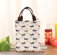 Adorable Canvas Lunch Bag - lots of patterns! Vernon, V1T 7H4