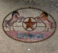 Western WELCOME Wall Decoration