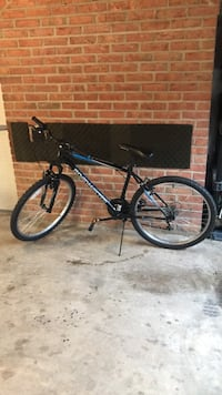 black and blue hardtail mountain bike North Potomac, 20878