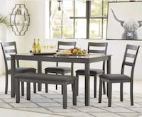 Brand New☆Special!Ashley 6 piece Dining Set☆39$ Down Owings Mills, 21117