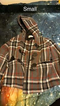 brown and black plaid button-up jacket Bakersfield, 93307