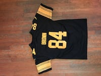 Antonio Brown Pittsburgh Steelers Color Blast Jersey Washington, 20024