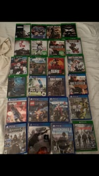 XBox/ PlayStation/ Wii Games Ottawa, K2K 3M9