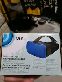 """VIRTUAL REALITY SMARTPHONE HEADSET. UP TO 6"""" PHONES.. NEW"""