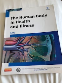 Human body in health and illness book Markham, L3S 3Z8