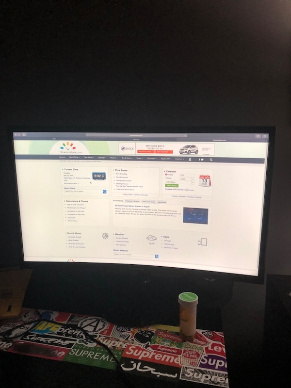 Samsung 24inch curved monitor 2