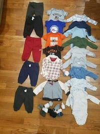 Baby boy 6 months clothes