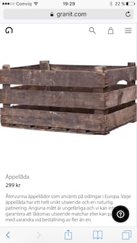 Two nice boxes from Granit for indoor or balcony/garden Sundbyberg, 172 69