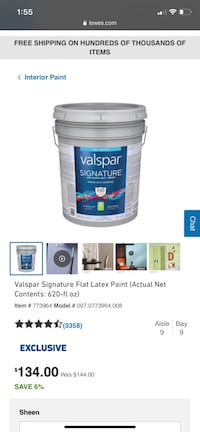 18.3 L bucket of paint Color agreeable grey Leesburg, 20176