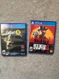 Fallout 4 and red dead redemption 2  Hamilton