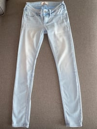 Hollister Skinny Light Wash Denim