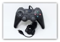 NEW Snakebyte PS3 USB Wired Game Controller for PlayStation 3  Black null