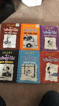 Diary of a wimpy kid books Sherwood Park, T8H 1E1