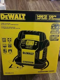Dewalt 1400 PeakAmp JUMPSTARTER 120PSi Aircompress Albuquerque