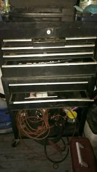 black and gray tool chest Davenport, 33837