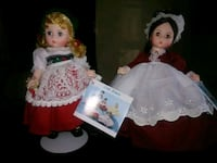 girl doll wearing pink and white dress Waco, 76710