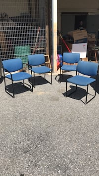 mid century vintage 4 waiting room chairs Damascus, 20872