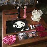 Vanity Accesories, Make up bags, Jewerly Holders ($15 for everything) El Paso, 79907