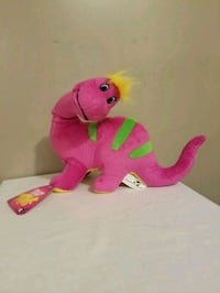 2010 dinosaur stuffed toy for age 3 and up new con