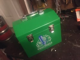 Collectable Steam-whistle tool/lunch box