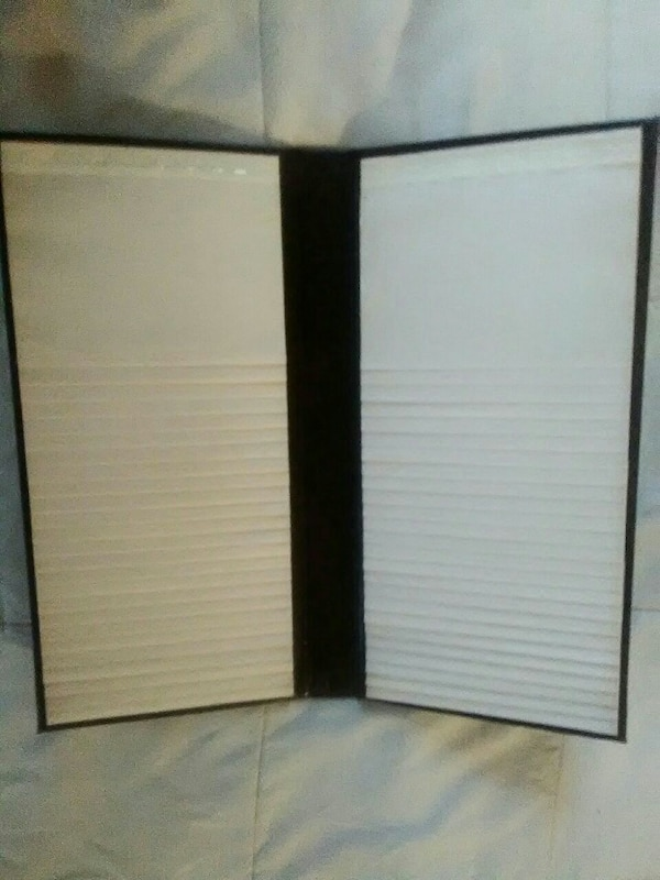 brown 2 sided flip up picture book