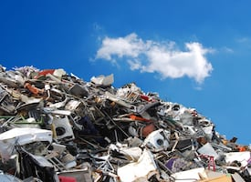 We turn junk into art! Save the landfills and recycle to make the world beautiful again!
