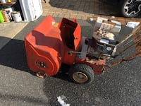 Snow blower. Ariens. Starts right up. Works and runs
