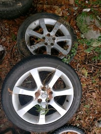 Nissan altima rims with tires 245/45/18 Woodbridge, 22191