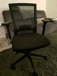 black ergonomical office chair Falls Church, 22041