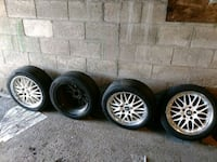 Bmw bbs replicas 17 inch with tires Toronto, M1P 2R7