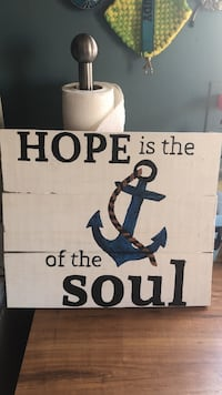 Hope is the of the soul poster Hickory, 28602