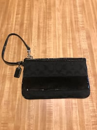 Coach Black Sequin Wristlet NWOT! Fairmont, 26554