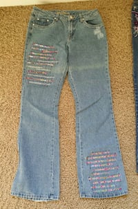 Bedazzled  denim jeans