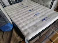 Luxury queen firm mattress temperapedic. Delivery  Edmonton, T5X 3G2