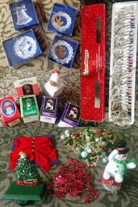 Variety Christmas Decorations - New!