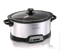 Hamilton beach slow cooker, programmable, 7 quart, Tysons, 22102
