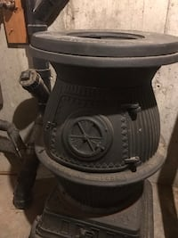 Potbelly wood stove comes with the original water pump and history  Portland, 06480