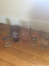 Assorted drinking glasses Worcester, 01604