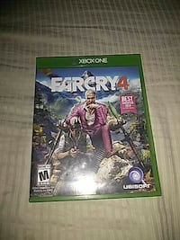 Farcry 4 Xbox One game case