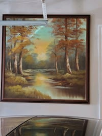 Beautiful antique square hand painting Richmond Hill, L4B 2Z5