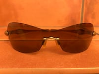 Rimless Oakley Sunglasses Bronze/Gold Henderson, 89074