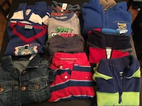 3T toddler boys clothing lot / fleece, shirts Vancouver, V5S